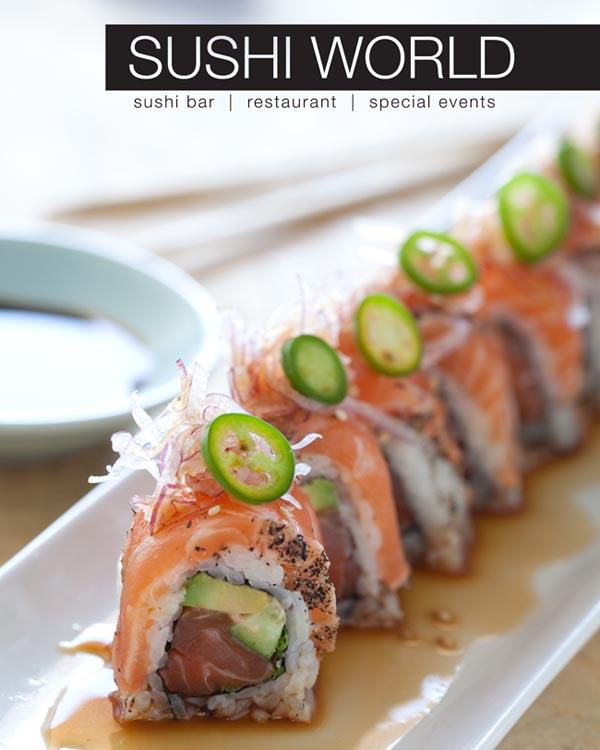 Atlantic Dragon Roll Orange County Sushi Specialty