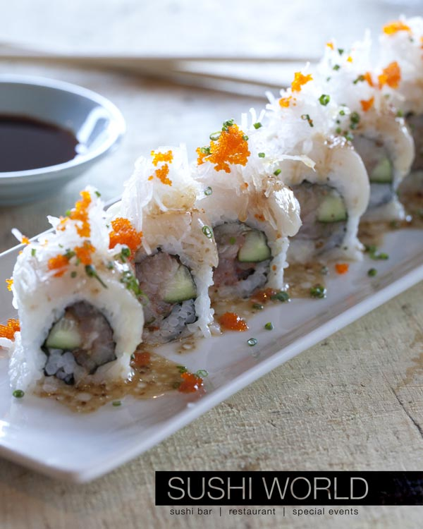 Best Orange County Sushi Manhattan Roll