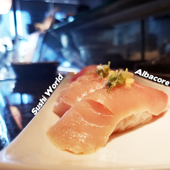 Albacore Happy Hour All Day Mondays Tuesdays Every Day Orange County OC Sushi World