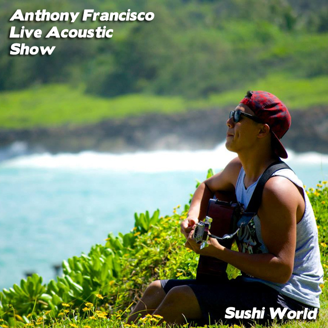 Live Acoustic Guitar Performance Orange County OC Restaurant Smooth Sushi World