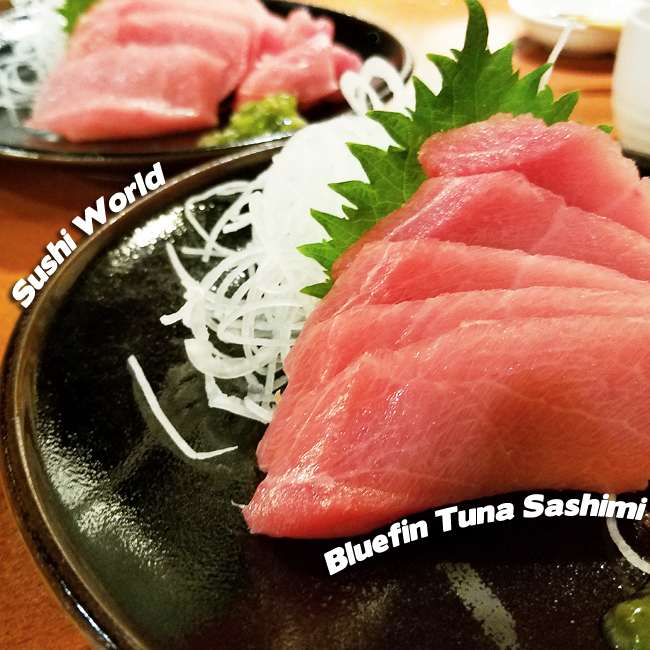 Bluefin Tuna Sashimi Sustainable Farmed Orange County Fresh Sushi World OC