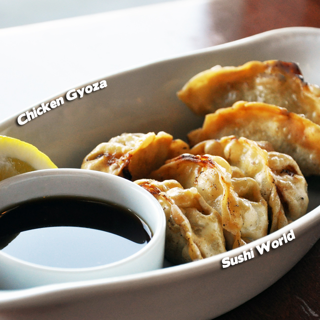 Fried Chicken Gyoza Orange County Sushi World