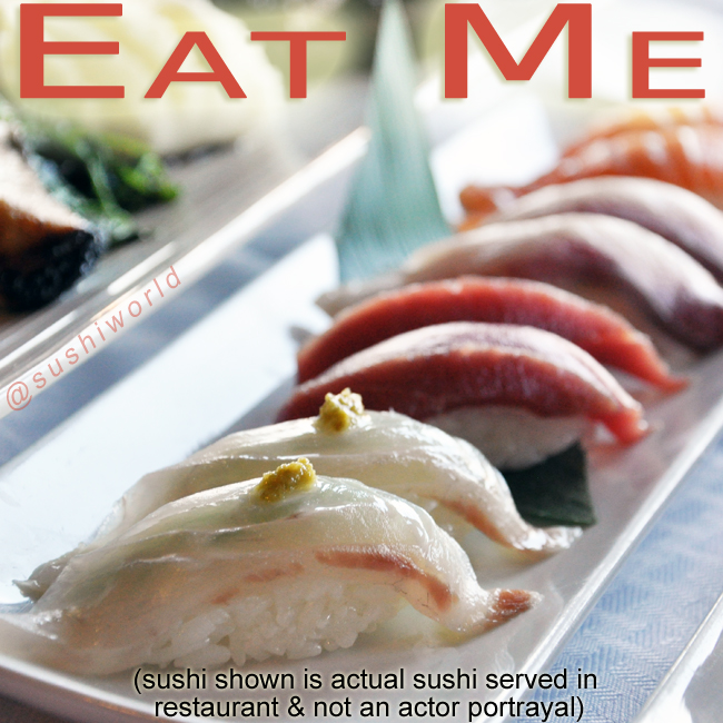 Eat Me Sexy Sushi Happy Friday Orange County OC Cypress Sushi World