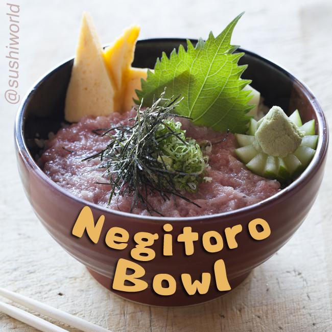Fatty Tuna Tamago Best Negitoro Sushi Bowl in Orange County OC Sushi World