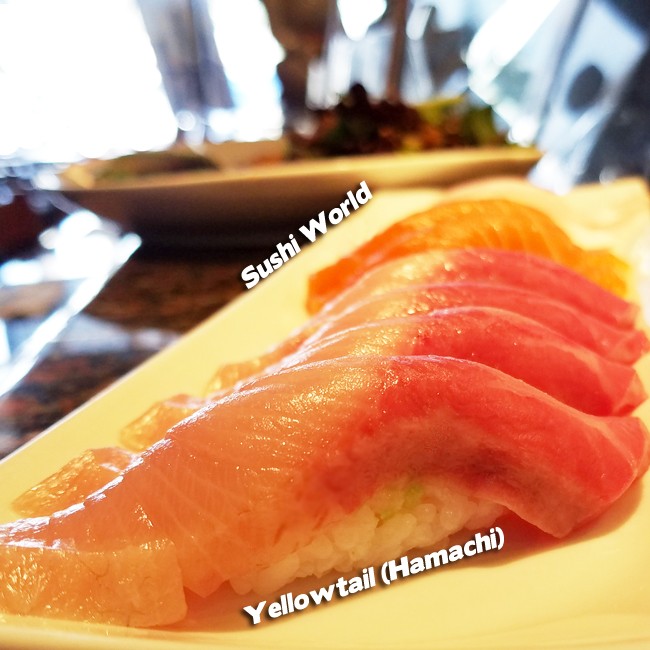 Yellowtail Sushi World Orange County OC Best Happy Hour Affordable Japanese Food