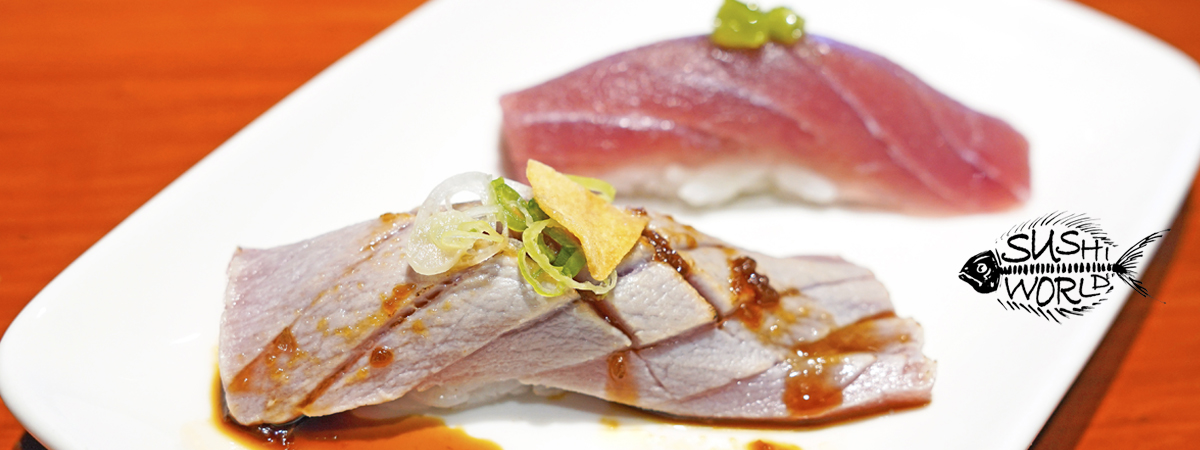 Orange County Sushi World OC Seared Bluefin Tuna Garlic Chip