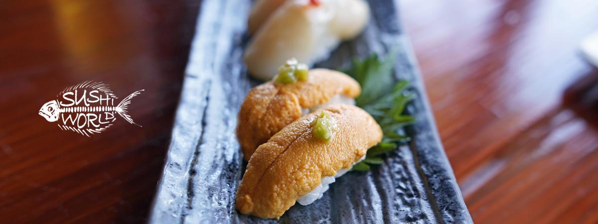 Orange County Sushi World OC Uni Sea Urchin Jumbo Scallops