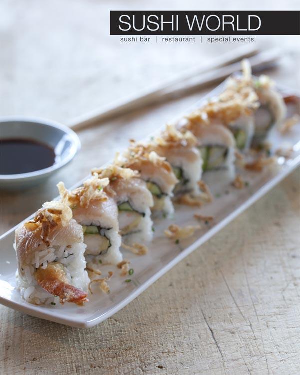White Dragon Roll Best Sushi in the OCWhite Dragon Roll