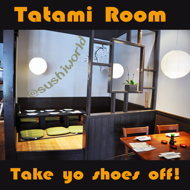 Orange County Tatami Room Japanese Restaurant OC Sushi World Sashimi Cuisine