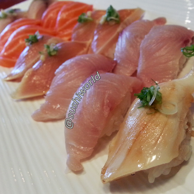 Fish Friday Sushi World Orange County OC Best Happy Hour Escolar Yellowtail Albacore Salmon