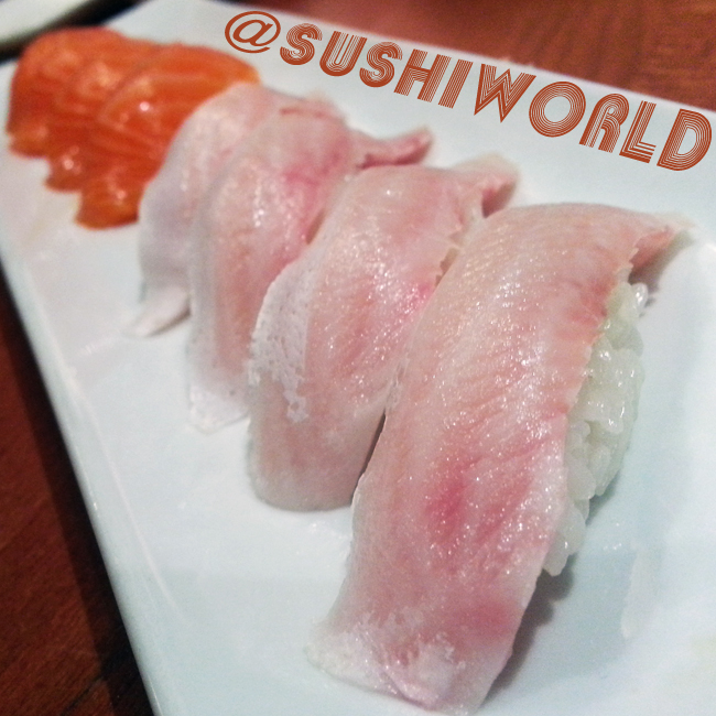 Special Secret Sushi Menu Cherry Salmon Sashimi Orange County Cypress Sushi World