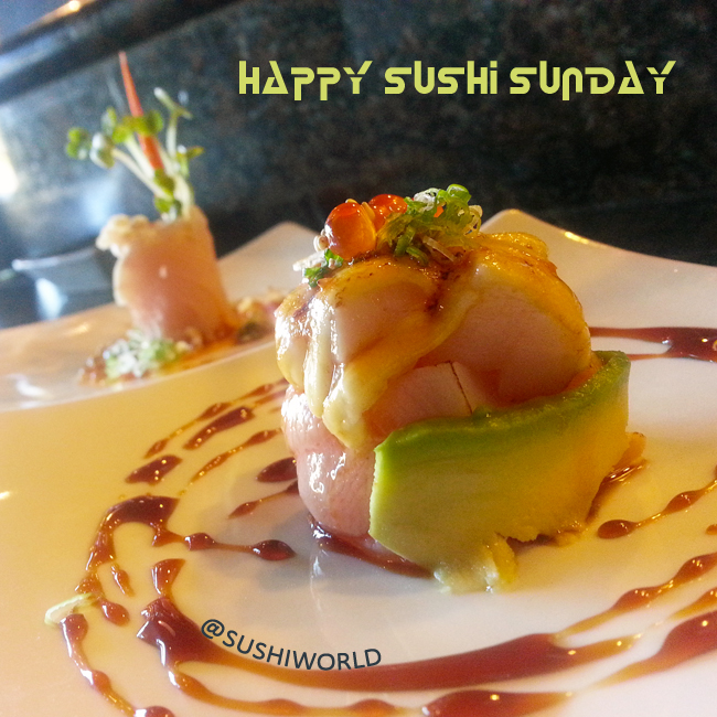 Happy Sushi Sunday Chef Creation Unique Best Orange County OC Sushi World Cypress