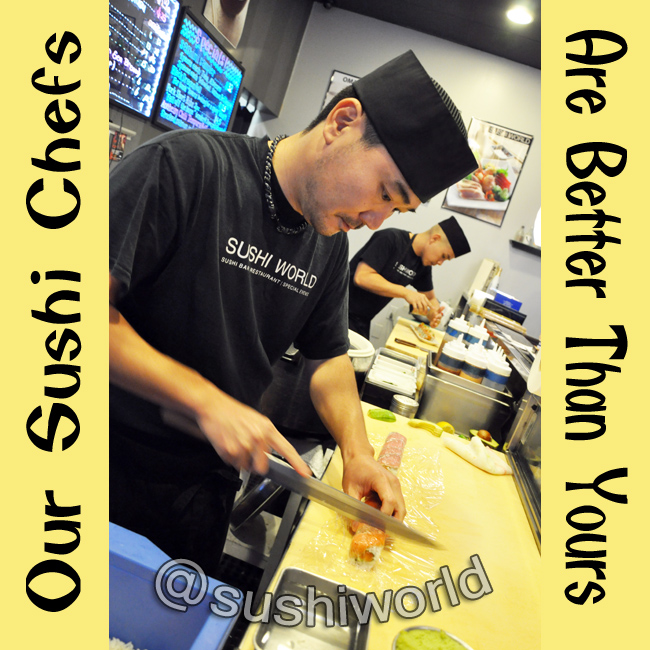 Best OC Sushi Chefs Orange County Cypress Sashimi Handrolls Talented