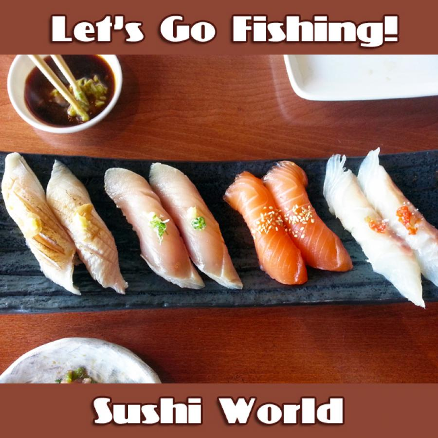 Seared Escolar Albacore Salmon Red Snapper Fresh Sushi Fish Fridays Orange County OC Sushi World