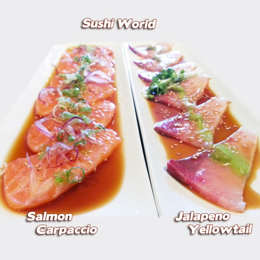 Get ready for summer sushi world for Yellowtail fish sushi