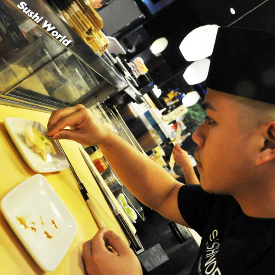 Orange County Sushi Chefs Ready to Serve OC Love Details Careful Sushi World Best