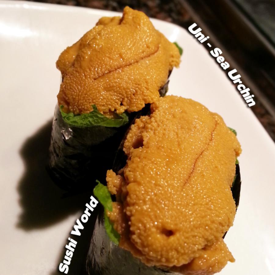 Uni Sea Urchin Specials Board Close Up Sake Pairing Premium Sushi Bar Orange County OC
