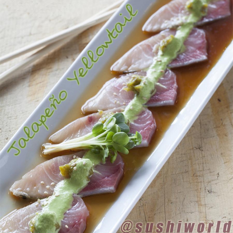 Jalapeno Yellowtail Orange County Sushi Cypress Best Ponzu Sauce Carb Free Sushi World