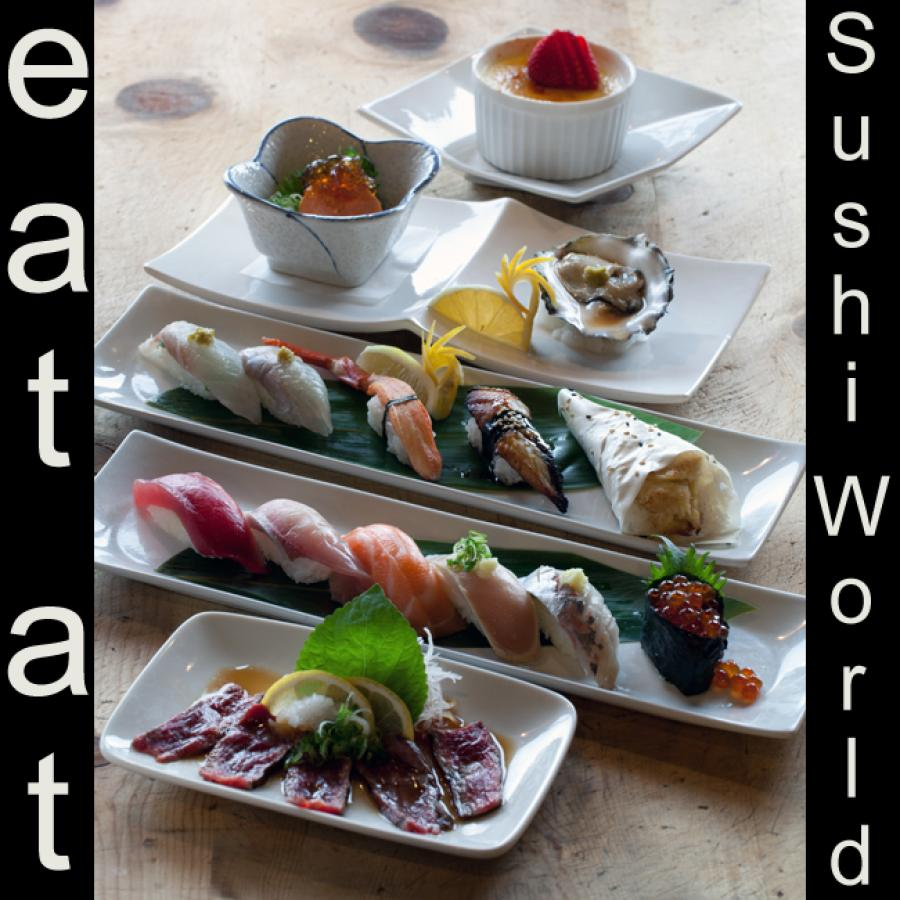 Omakase Beef Tataki Nigiri Tuna Red Snapper Yellowtail Ankimo Cypress Orange County OC Sushi World