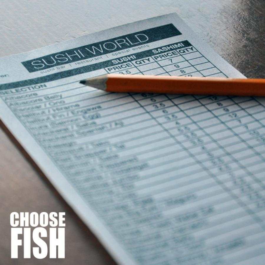 Choose Fish Sushi World Menu Orange County OC Cypress Selection Fresh Sashimi