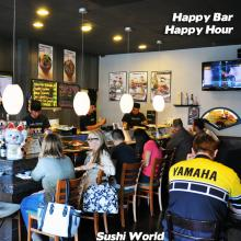 Happy Sushi Bar Orange County OC Happy Hour Best Chefs Customers Best Deal