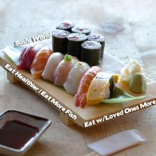 Resolutions Eat More Fish Healthier With Loved Ones Cypress Orange County OC Sushi World