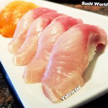 Yellowtail Happy Hour Orange County OC Sushi World Nigiri Best Deal