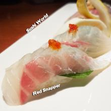 Red Snapper Pink White Flesh Sweet Aroma Orange County OC Sushi World