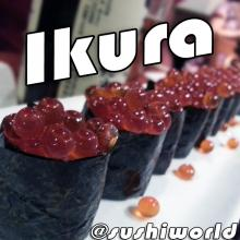Ikura Salmon Roe Eggs Nigiri Special Deal Cypress Orange County OC Sushi World