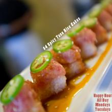 Spicy Tuna Rice Cakes Happy Hour All Day Tuesdays Mondays Cypress Orange County OC Sushi World