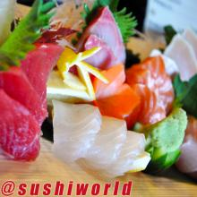 Sashimi Tuna Salmon Yellowtail Red Snapper Best in Orange County OC Sushi World