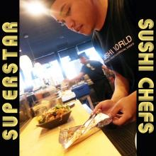 Superstar Sushi Chefs Orange County OC Cypress Sushi World
