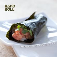 Spicy Tuna Hand Roll Delicious Beautiful Orange County OC Sushi World Best