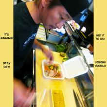 Orange County Raining OC Sushi Chefs To Go Pack It Up Sushi World Cypress