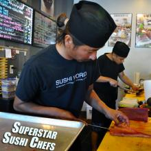 Best Sushi Chefs Orange County OC Sushi World Tuna Blue Fin Sashimi