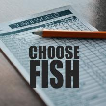 Choose Fish Options Selection from Sushi Menu Sushi World Orange County OC