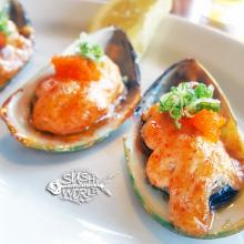 Baked Mussels Appetizers Best Happy Hour Orange County OC Cypress Sushi World