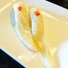 Engawa Halibut Fin Orange County OC Sushi Not Common Cypress Garden Grove