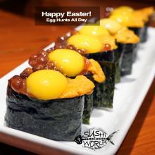 Ikura Uni Quail Egg Sushi Love Orange County OC Cypress Garden Grove