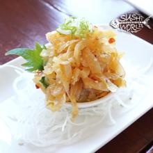 Orange County Sushi Jellyfish Salad Appetizer Cypress Anaheim OC Fresh