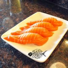 Salmon Best Happy Hour Orange County Sushi OC Cypress Appetizers Nigiri Sapporo