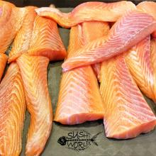Salmon Slabs Happy Hour All Day Mondays Tuesdays Peppered Best Orange County HH OC